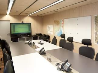 Sala de reuniones del CECAT.
