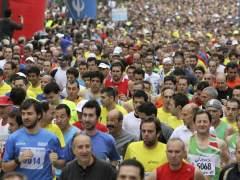 Corredores en el Medio Maratón de Madrid 2011