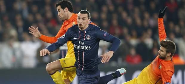 Ibrahimovic ante el Barça
