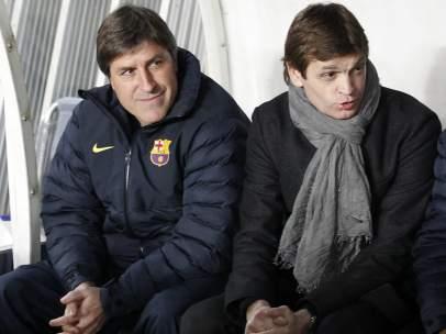 Tito Vilanova y Jordi Roura