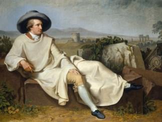 Goethe dans la campagne romaine, 1787