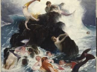 Le Jeu des néréides, 1886
