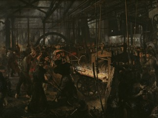 Eisenwalzwerk - The Iron Rolling Mill (Modern Cyclopes), 1872-1875