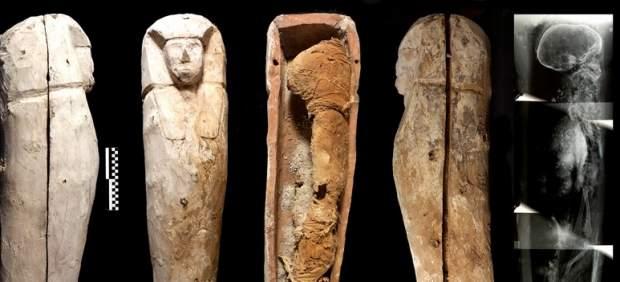 El hallazgo de tres momias arroja luz sobre Tebas y la gesta 114560-620-282