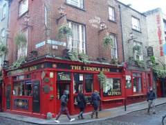 El tradicional pub Temple Bar
