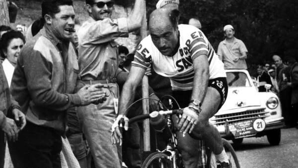 Miguel Poblet, en la Volta a Catalunya de1960