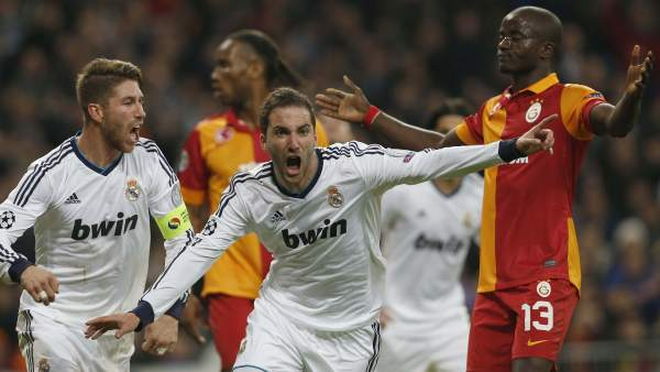 Gol de Higuaín al Galatasaray