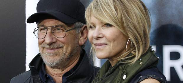 Steven Spielberg y su mujer, Kate Capshaw