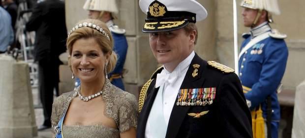 Guillermo de Holanda y Máxima Zorreguieta