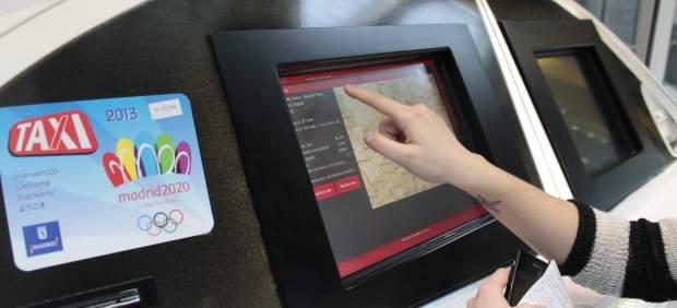 Simulardor de tarifas de taxi en el aeropuerto de Barajas