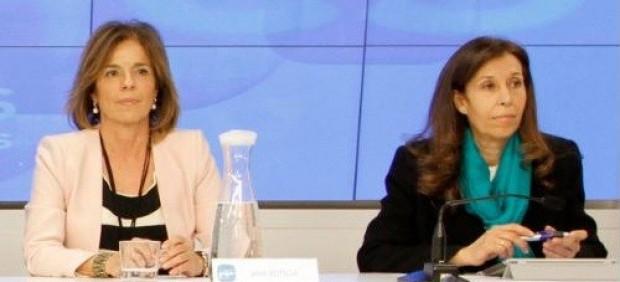 Ana Botella y Eva Durán