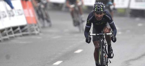 Nairo Quintana, ganador de etapa en Arrate