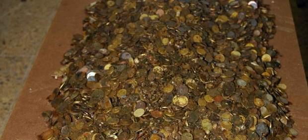 Monedas robadas en el santuario de Covadonga