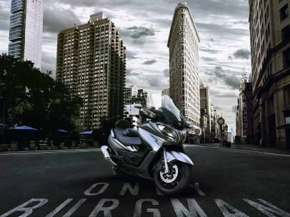 Nueva moto Suzuki Burgman 650