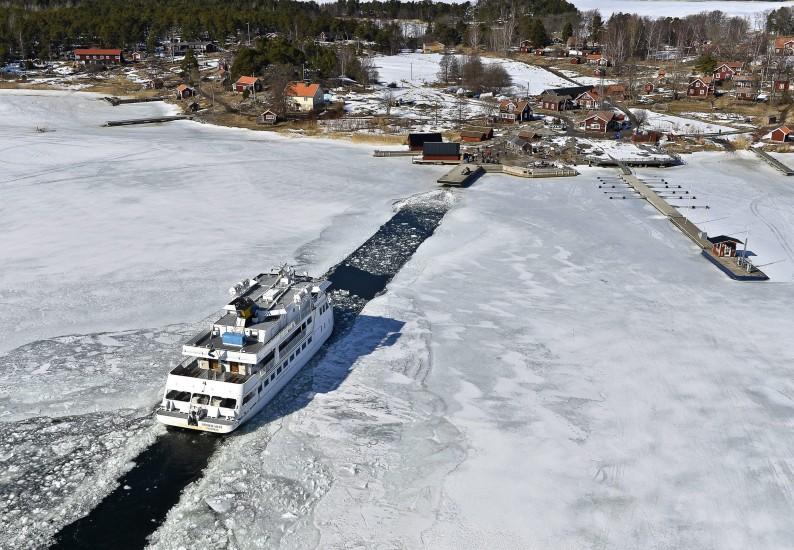 El Báltico nunca estuvo tan helado