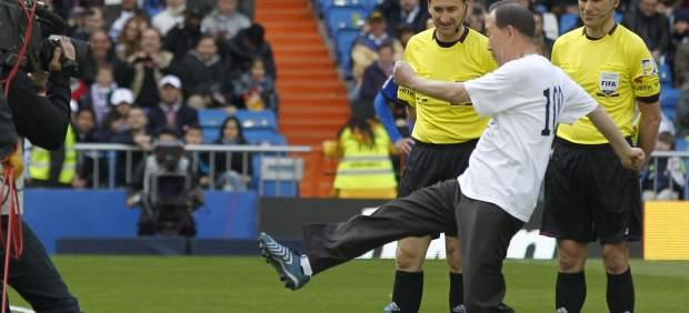 Ban Ki-moon en el Bernabéu