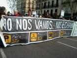 Madrid en 'No nos vamos, nos echan'