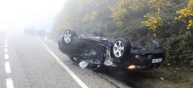 Accidente de tráfico en Galicia