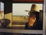 Los Alamos Portfolio-California, 1974, Walter Hopps in phone booth