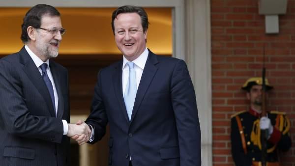 Rajoy y Cameron