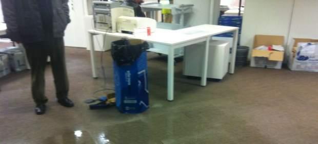 Inundación de la sede de Urbanismo del Ayuntamiento de Madrid
