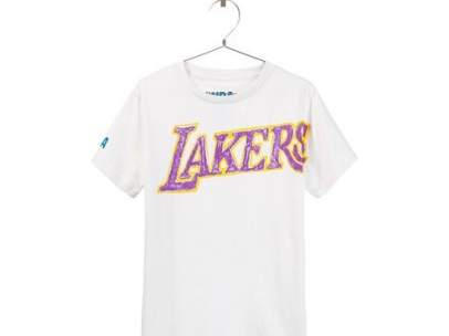 Camiseta Lakers de Zara