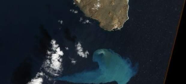 La erupción submarina de El Hierro.