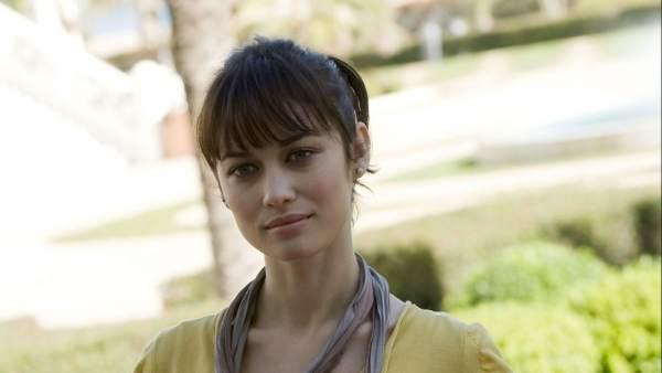 La actriz Olga Kurylenko.