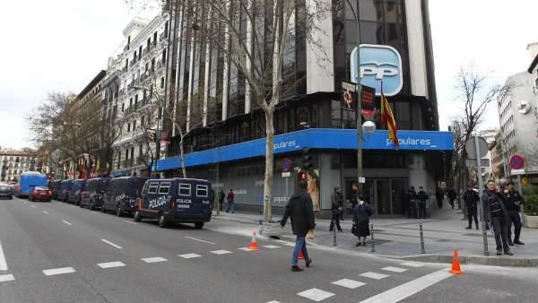 Sede central del PP