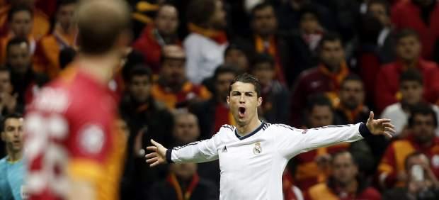 Cristiano ante el Galatasaray