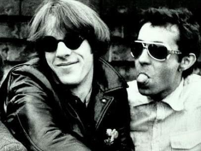 Imagen de los tres miembros originales de The Police: Padovani es el primero a la derecha.
