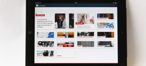 '20 minutos' se hace fuerte en el iPad con una nueva tecnología