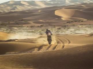 Marc Coma, en los Emiratos Árabes Unidos