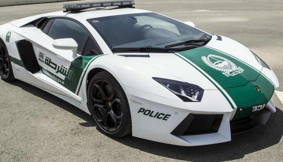 El Lamborghini aventador será el nuevo coche de Policía de Dubai