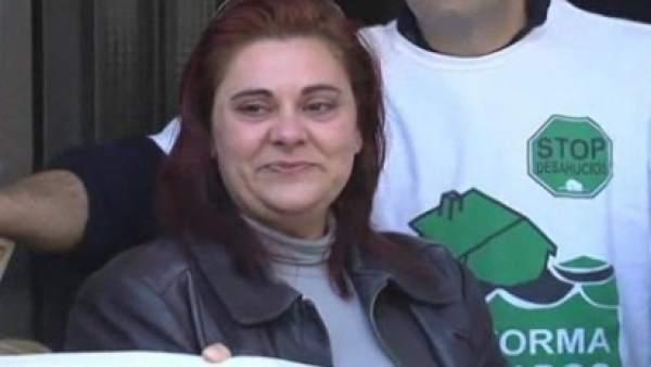 María Dolores Bermejo, primera beneficiaria del decreto antideshaucios andaluz