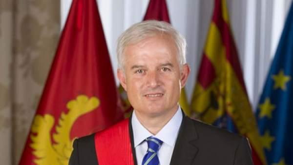 Eloy Suárez Lamata, miembro del ayuntamiento de Zaragoza y diputado del PP.