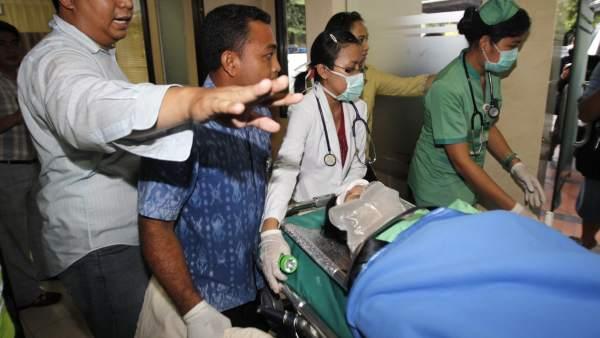 Accidente de avión en Bali