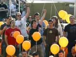 Manifestación de apoyo a los condenados de Segi