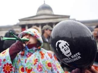 Protesta contra Margaret Thatcher