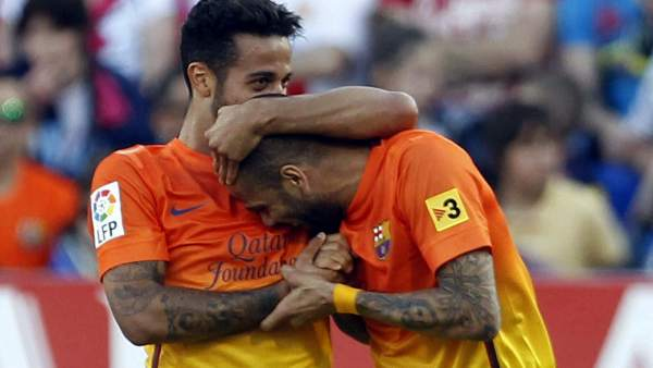 Thiago Alcántara y Dani Alves