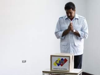 El voto de Maduro
