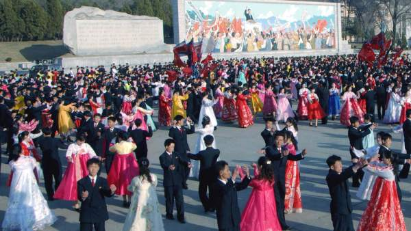 Primer aniversario del líder norcoreano, Kim  Jong-un
