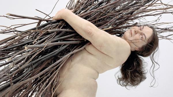 'Woman with Sticks' (2009)