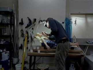 'Ron Mueck's Studio, October 2013'
