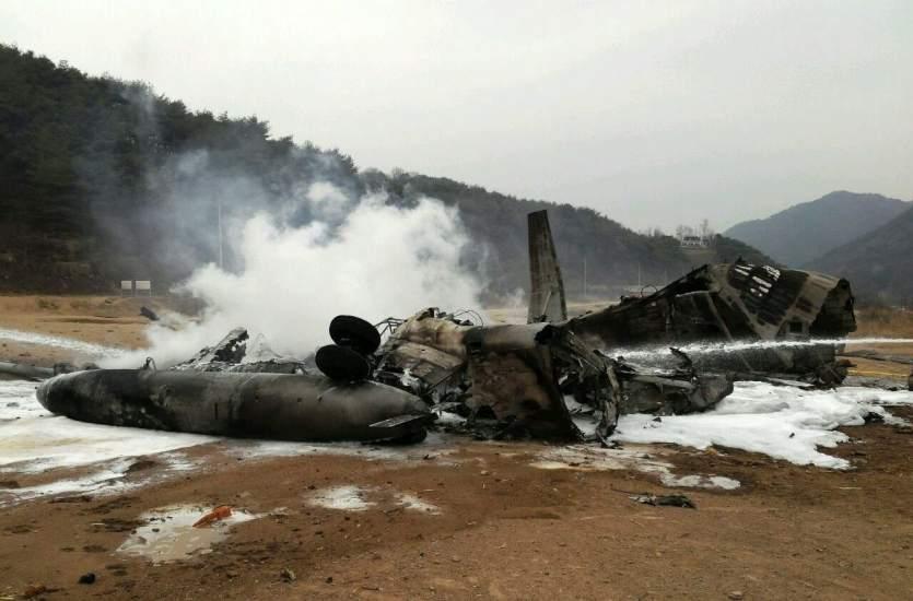 Cae un helicóptero de EEUU cerca de Corea del Norte