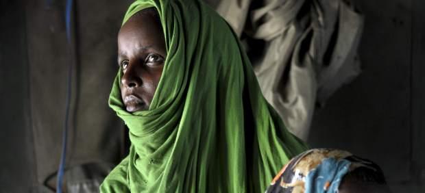 Esperando ayuda en Somalia