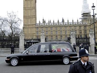 Funeral de Margaret Thatcher
