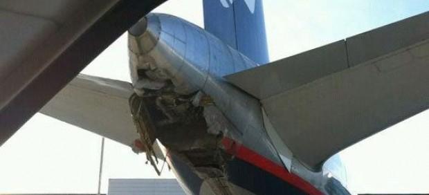 Incidente de un avión de Aeroméxico