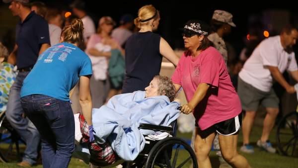 A la búsqueda de supervivientes en Texas