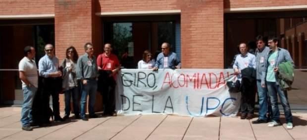Protestas en la UPC